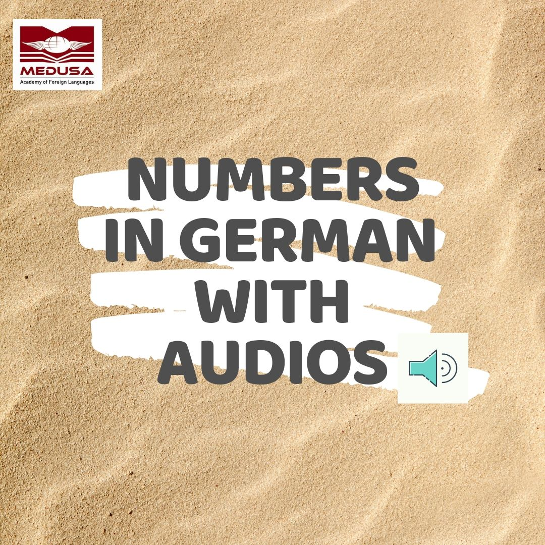 Numbers in German 1 - 10
