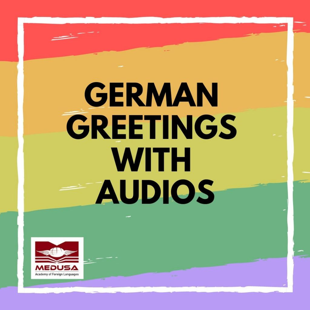 German Greetings with audios
