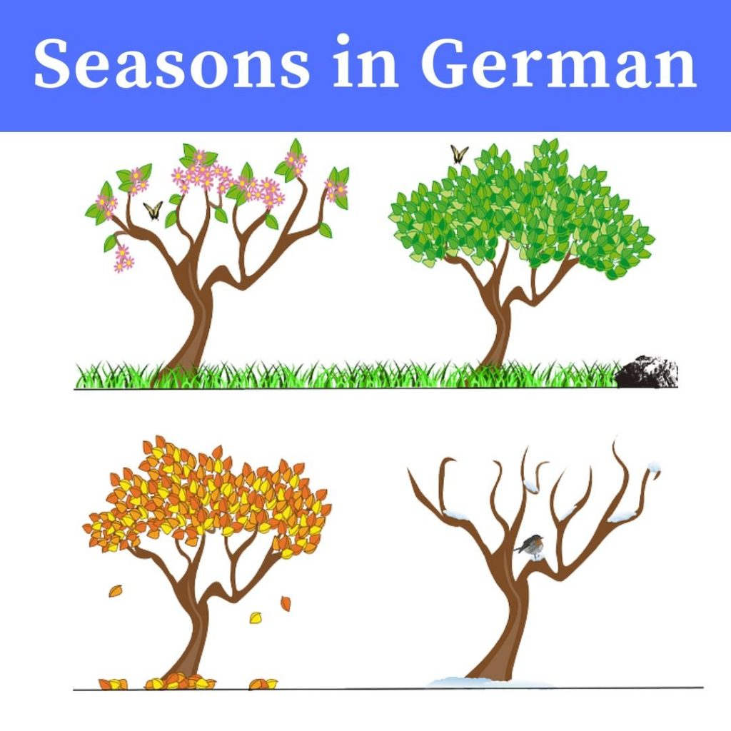 Seasons in German