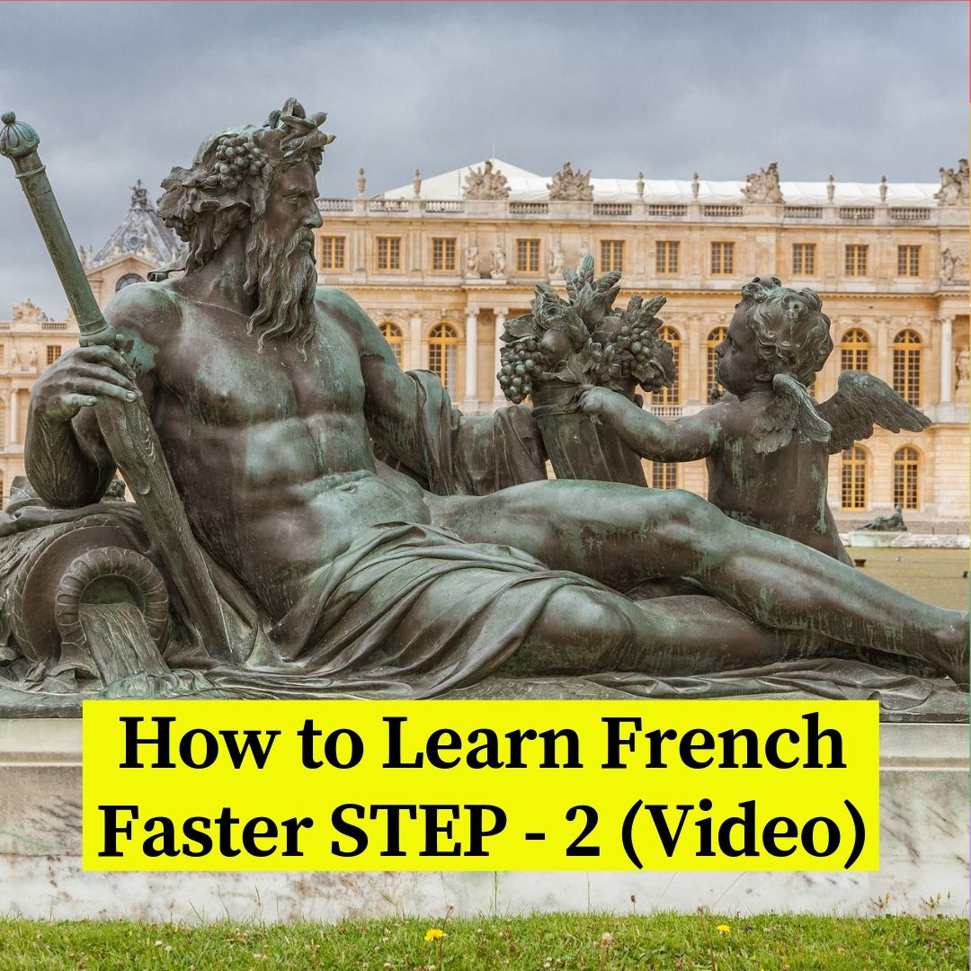 Reasons to learn French, step - 2 with video